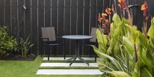 Quaint and Private patio design in San Francisco