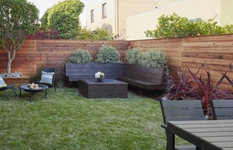 Landscaped Backyard in SF