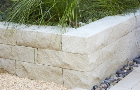 San Francisco Retaining Wall in a nice Landscape Build
