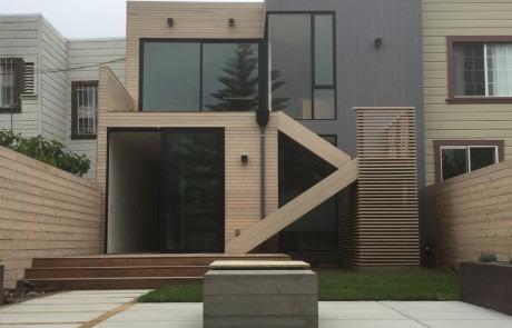 Modern landscape design in San Francisco