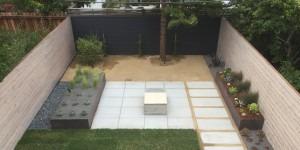 Private patio in San Francisco