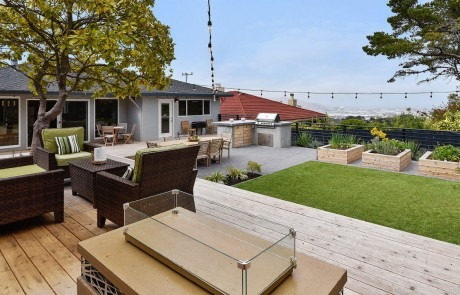 Modern Landscape and Patio Furniture in San Francisco