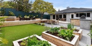 Natural Yard Space and Garden in San Francisco